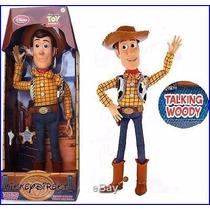 Boneco Disney Toy Story Woody Fala Original