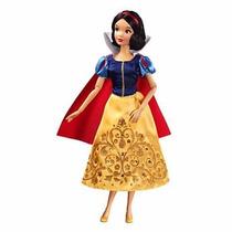 Boneca Princesa Branca De Neve Original Disney 28cms
