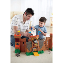 Castelo Reino De Aguia Imaginext Fisher Price Mattel Pronta