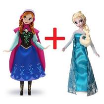 Bonecas Princesas Elsa E Anna Originais Frozen Disney Store
