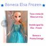 Boneca Frozen Que Canta - Filme Frozen Elsa Musical
