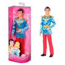 Boneco Principe Brilhante Encantado Princesas Disney Mattel