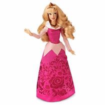 Boneca Princesa Aurora Original Disney 28cms De Altura