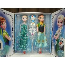 Boneca Frozen Musical Que Canta - Filme Frozen Elsa E Anna