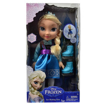 Boneca Frozen Elsa Disney Original Patinadora 38 Cm - Sunny