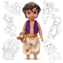 Boneco Animators Aladim - Original