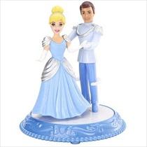 Miniatura Topo De Bolo Disney Dancingduet Cinderela Principe