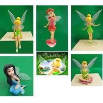 Kit 5 Bonecas Tinker Bell Fadinha Sininho Disney Frete Gráti