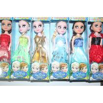 Caixa Com 300 Mini Bonecas Frozen Elsa E Anna (atacado)