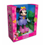 Boneca Minnie Patinadora Disney Sonora Meninas Brinquedo