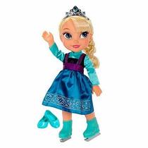 Disney Frozen Boneca Princesa Elsa De Patins 38cm