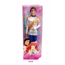 Princesas Disney Principe Brilhante Eric Bdj06/bdj08 Mattel