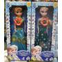 2 Bonecas Do Filme Frozen Disney Musical Elsa E Anna