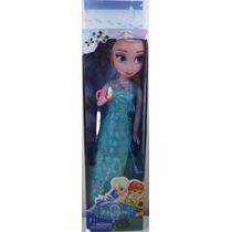 Boneca Frozen Elsa Musical Disney 45cm Articulada Grande