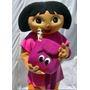 Dora Aventureira!!! Fantasia, Boneco, Personagem Vivo!!