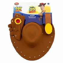 Woody Chapeu Com Cartucheira Original Disney.pronta Entrega
