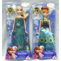 Kit Bonecas Frozen Ana E Elsa Original Mattel Pronta Entrega