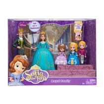 Familia Real Princesinha Sofia Disney 5 Personagens