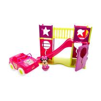 Boneca Minnie Disney Original Playground C/ Carrinho - Toyng