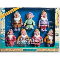 Kit Bonecos Sete Anões Da Branca De Neve Raridade!!! Novos
