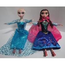 Pronta Entrega- 2 Bonecas Do Filme Frozen Disney Anna E Elsa