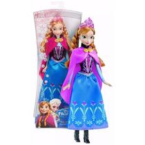 Boneca Princesa Anna Frozen Original Disney Mattel Barbie