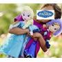 2 Bonecas Pelucia - Princesa Ana E Rainha Elsa Disney Frozen