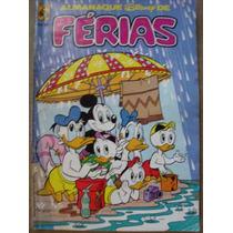 Almanaque Disney De Férias Nº 3 Editora Abril