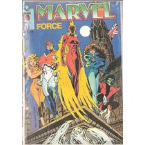 Lote Marvel Force Nº1 - Editora Globo