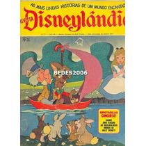 Revista Disneylândia Nº 31 - Editora Abril - 1972