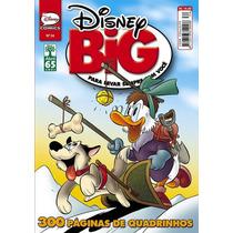 Disney Big # 34 = Hq Gibi Em Quadrinhos 300 Paginas Novo!