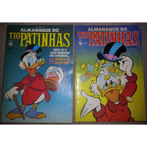 Gibi Almanaque Do Tio Patinhas Nº 1 E Nº 2 Editora Abril 86