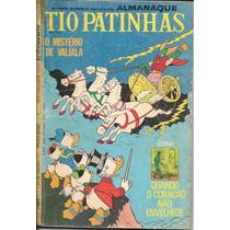 Tio Patinhas Nº 54 - Ano 1970 - Ed. Abril - C/ Figurinhas