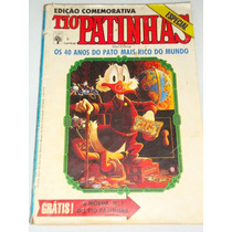 Tio Patinhas Nº 5 / 1987 Edição Comemorativa 40 Anos Ótimo F