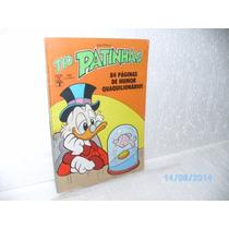 Tio Patinhas Nº 284 Ed. Abril/1989 Humor Quaquilionário - Fj