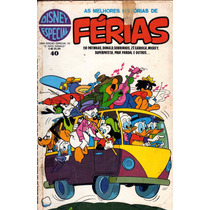 Disney Especial N° 40 Dezembro De 1978 Férias Estado Razoáv.