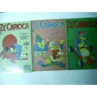 Zé Carioca - Nºs 985-1049-1051-(1970 E 1971) =peque Lote
