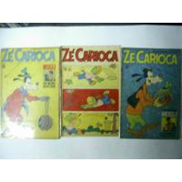 Zé Carioca - Nºs 875-877-1073-797-1121 = Lote