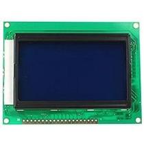 Display Gráfico Glcd 128x64 Azul Sanusb Pic Arduino
