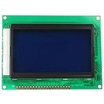 Display Gráfico Glcd 128x64 Ks0108 Azul Sanusb Pic Arduino