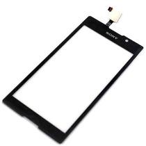 Tela Touch Sony Xperia C C2304 C2305 Preto Frete Gratis