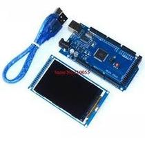 Arduino Mega + Tela 3.2 Tft Com Leitor De Cartão