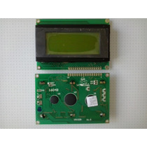 Display Lcd 16x4 C/ Back Verde P/ Pic Atmel Arduino