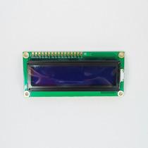 Display Lcd 1602 Fundo Azul 16x2- Arduino, Atmel, Pic