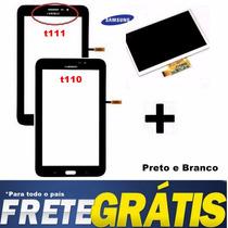 Tela Touch + Display Lcd Sm-t111 T110 Samsung Galaxy Tab 3