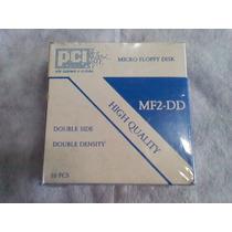 Caixa Lacrado 10 Disquetes Floppy Pci Amiga Commodore Msx Tk
