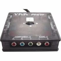 Seletor Profissional Ypbpr Vídeo Componente C/ Som Estéreo