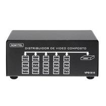Splitter Distribuidor De Video Composto S/audio 1x15 Vps1x15