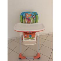 Cadeira De Alimentação Wood Friends Polly 2 Em1 Chicco Usada