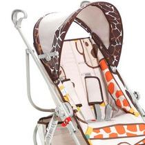 Carrinho Bebê Passeio Girafas Reversível Galzerano 1001